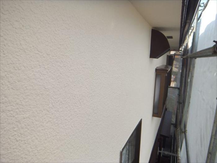 横浜市青葉区 ナノコンポジットWで外壁塗装 塗装完了