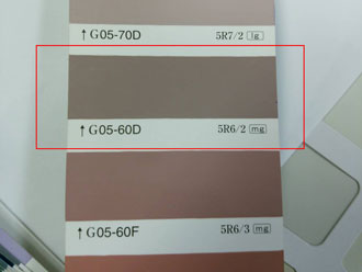 日塗工 外壁の色 外壁塗装 05-60D
