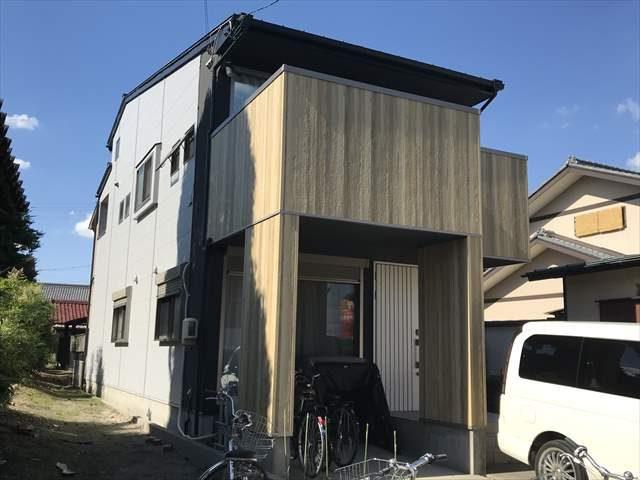 愛知県あま市にて外壁塗装・サイディング張替・目地カバー