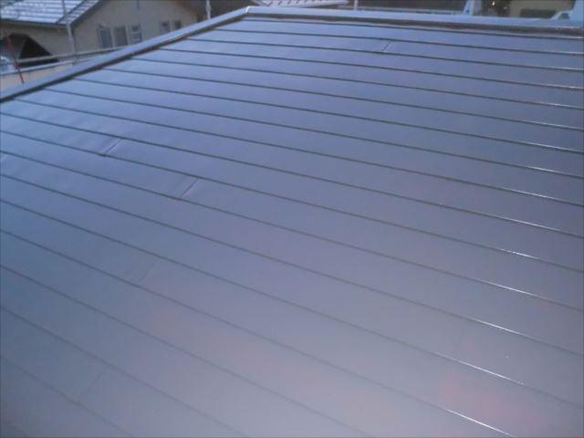 水戸市の賃貸事務所の外壁と屋根をシリコン塗料での塗装