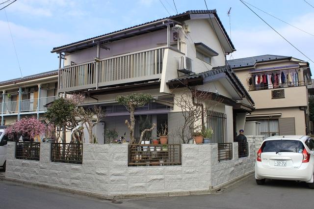 所沢市/とても綺麗な色で外壁塗装の工事が完了。