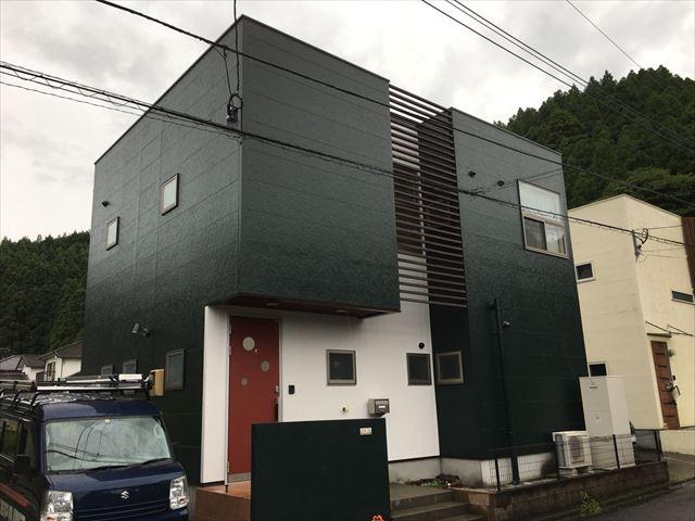 佐伯市で屋根塗装・外壁塗装工事、スーパーシャネツサーモFと超低汚染リファイン1000MF-IRでお家の塗り替え~遮熱塗料で暑さも低減