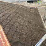 筑紫野市で戸建て住宅の屋根をスーパーシャネツサーモで塗装しました