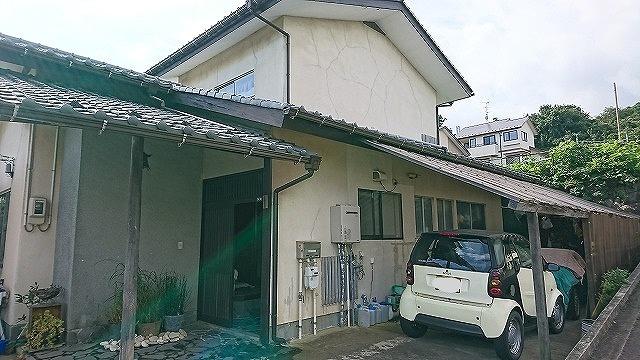 仙台市太白区で外壁塗装の現地調査