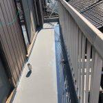 知立市内幸町にてウレタン塗膜防水の仕上げが完了しました!