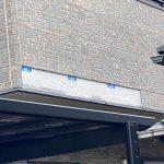 安城市横山町にてバルコニーのサイディングが落下!保険対応が可能かも?