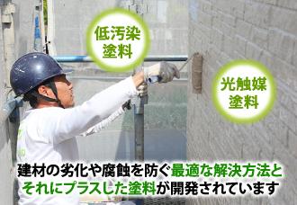 建材の劣化や腐蝕を防ぐ最適な解決方法とそれにプラスした塗料が開発されています