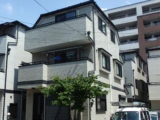 江戸川区松江で3階建てのお家を屋根塗装・外壁塗装・防水工事でフルメンテナンス