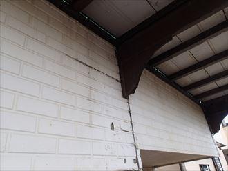 外壁の腐食と雨漏り