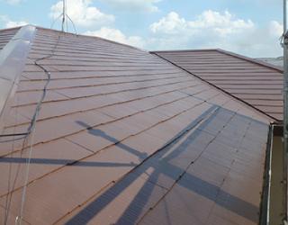 塗り替えで、防水性能アップした後の屋根
