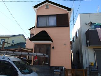 千葉県 八千代市 屋根塗装 外壁塗装 足場架設 メッシュシート