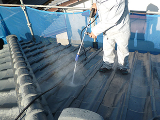 印旛郡 屋根洗浄