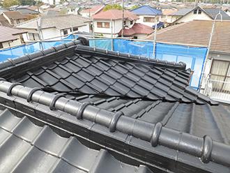 印旛郡 屋根塗装 中塗り