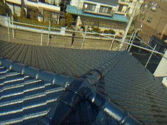 習志野市 屋根塗装 セメント瓦 ルーフマイルドシリコン 完工