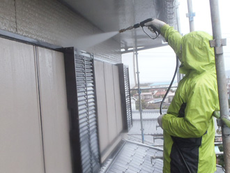 千葉県 館山市 屋根の高圧洗浄機