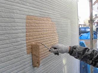 千葉県 八千代市 外壁塗装 目地補修 プライマー塗布