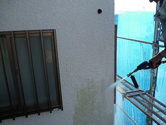 印旛郡 外壁洗浄後