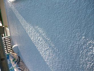 印旛郡 屋根塗装 上塗り