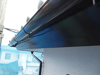 印旛郡 雨樋塗装
