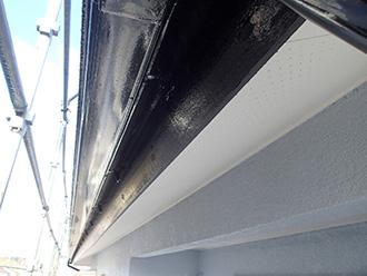 千葉県 市原市 外壁塗装 軒天と破風板