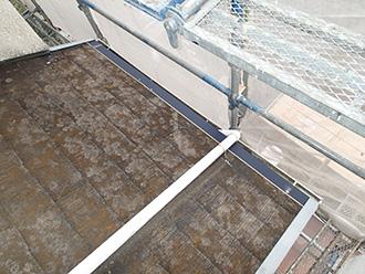 千葉県 市原市 屋根カバー工法 既存の屋根