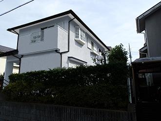千葉県市原市 屋根カバー 外壁塗装 モルタル外壁補修修 カラーシミュレーション 薄めのグレイッシュブルー