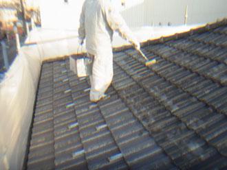 習志野市 屋根塗装 セメント瓦