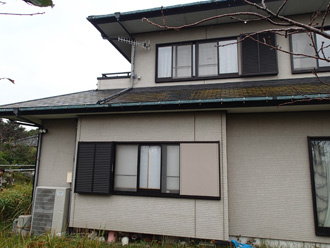 千葉県 館山市 外壁塗装 目地補修 プライマー塗布