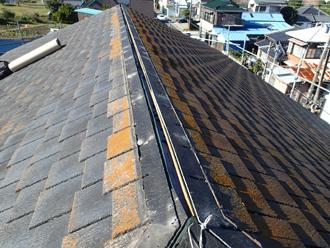 千葉県 館山市 屋根カバー工法 タスペーサーを使った縁切